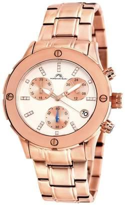 Porsamo Bleu Women's Charlotte Gold-Tone Bracelet Watch, 37.5mm