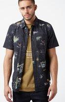 Volcom No Vacancy Short Sleeve Button Up Shirt
