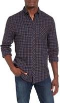 Ben Sherman Men's Mod Fit Herringbone Check Shirt