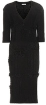 Nina Ricci Knitted wool-blend dress