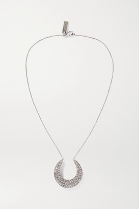 Etro Silver-tone Crystal Necklace