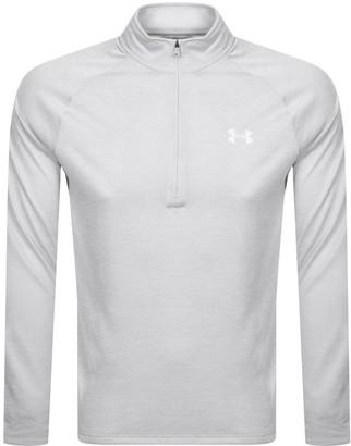 Under Armour Half Zip Tech Sweatshirt Grey