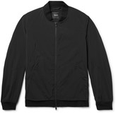 Theory Slim-Fit Stretch-Shell Bomber Jacket