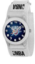 Game Time Rookie Series Oklahoma City Thunder Silver Tone Watch - NBA-ROW-OKC - Kids