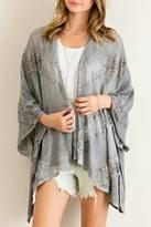 Entro Handkerchief Hem Kimono