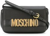 Moschino logo crossbody bag - women - Calf Leather - One Size