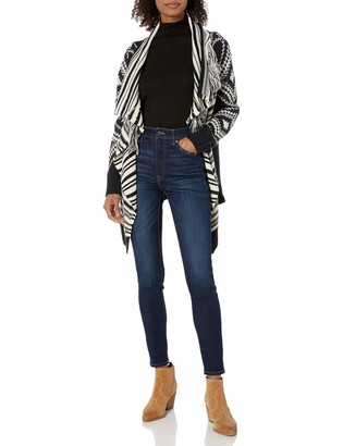 Angie Women's Open Cardigan Sweater with Fringe