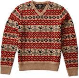Ralph Lauren RRL Wool-Blend V-Neck Pullover