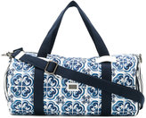 Dolce & Gabbana printed holdall