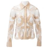 Valentino Leather Shirt