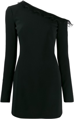 David Koma One Shoulder Dress