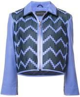 Martina Spetlova zipped woven jacket