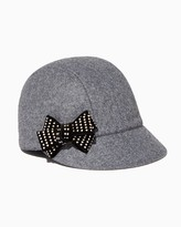 Charming charlie Studded Bow Jockey Hat