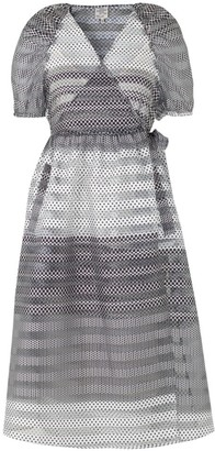 Baum und Pferdgarten Adalaine Dotted Tie-Waist Dress