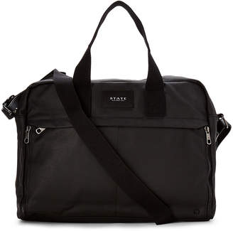 State Black Preston Laptop Messenger Bag