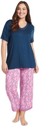 Jockey Cooling Rayon Spandex Butterfly Kiss Pajama Set