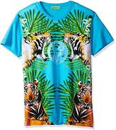 Versace Men's Printed Graphic T-Shirt