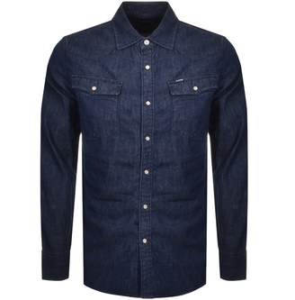 G Star Raw Slim 3301 Shirt Navy