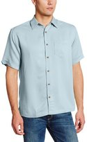 Cubavera Men's Short Sleeve Bedford Cord Shirt with Pocket