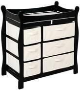 Badger Basket Baby Changing Table - Black