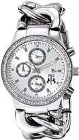 Jivago Women's JV1226 Lev Analog Display Swiss Quartz Silver Watch