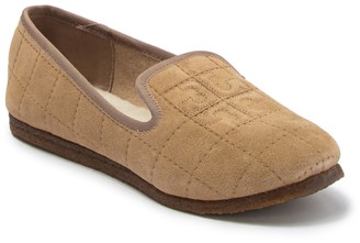 Tory Burch Cowley Genuine Shearling Lined Slipper