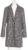 Thakoon Angora Patterned Coat w/ Tags