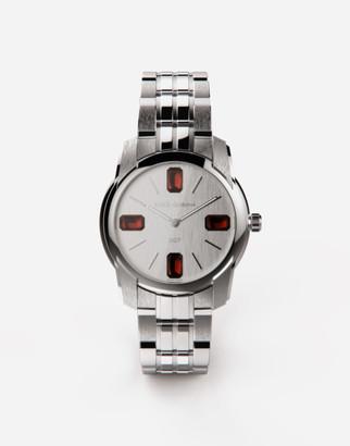 Dolce & Gabbana Steel And Rhodolite Watch