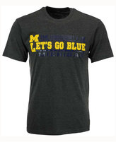 Colosseum Men's Michigan Wolverines Verbiage Stack T-Shirt
