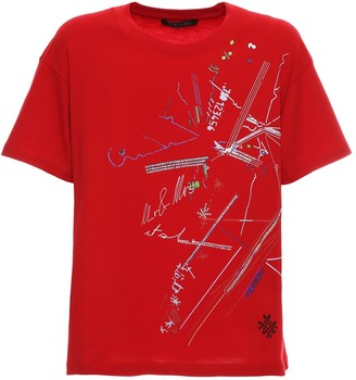Mr & Mrs Italy Chinese New Year 2020 Red T-shirt With Prints