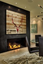 Parvez Taj Hot Temper Natural Pine Wood Wall Art
