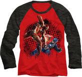 Marvel Long-Sleeve Civil War Raglan Tee - Boys 8-20