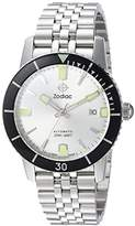 Zodiac Men's 'Super Seawolf 53 Comp' Swiss Automatic Stainless Steel Casual Watch