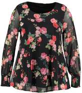 Evans FLORAL Blouse multi dark