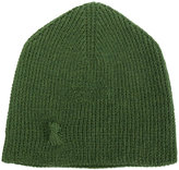 Hannes Roether ribbed knit beanie hat
