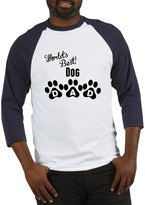 CafePress - Worlds Best Dog Dad - Cotton Baseball Jersey, 3/4 Raglan Sleeve Shirt
