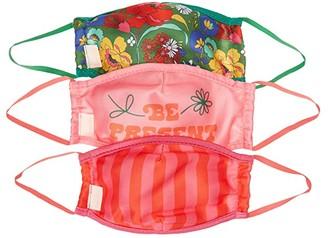 ban.do Face Mask 3-Pack (Be Present/Superbloom/Stripe) Scarves