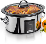 Crock-Pot SCVT650-PS Slow Cooker, 6.5 Qt. with Touch Screen Technology