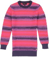 Juicy Couture Girls Sweater Ombre Tuck Stitch Dress