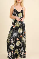 Umgee USA Floral Maxi Dress