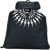 Neil Barrett Light Bolt backpack - men - Polyamide/Polyester - One Size