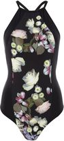 Ted Baker Kensington floral cupped swimsuit