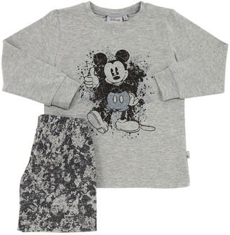 Mickey Cotton Jersey T-shirt & Pants