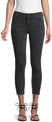 DL1961 Flo Leopard Crop Jeans