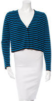 Akris Punto Striped Wool Cardigan w/ Tags