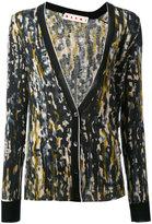 Marni Haze print cardigan - women - Cashmere - 40