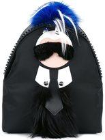 Fendi 'Karlito' backpack - men - Leather/Mink Fur/Rabbit Fur/Polyester - One Size