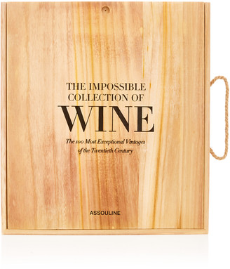 Assouline The Impossible Collection Of Wine Hardcover Book