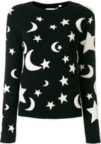Chinti and Parker cashmere midnight sky sweater