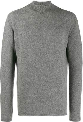 Roberto Collina knitted wool turtle neck sweatshirt